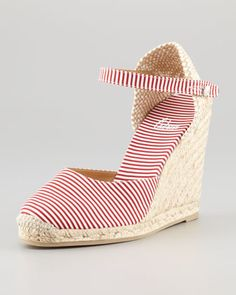 Carol Closed-Toe Wedge Espadrille by Castaner at Neiman Marcus.
