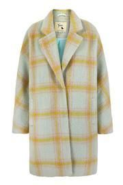 Pastel Plaid Coat