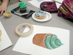 a faithful attempt: Wayne Thiebaud Dessert Paintings
