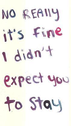 No really... :(