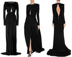 balmain gown - Google Search