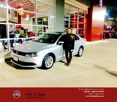 https://flic.kr/p/CQj9vw | Congratulations Lauren on your #Volkswagen #Jetta Sedan from Farzin Rejaie at Fiat of Dallas! | deliverymaxx.com/DealerReviews.aspx?DealerCode=F741
