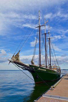York River Ship, VA, via Flickr.