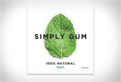 CHICLETE FEITO DE INGREDIENTES NATURAIS - SIMPLY GUM  Simply Gum é um chiclete feito de ingredientes 100% naturais, ao contrário dos doces regulares, que geralmente são embalados com aromatizantes artificiais, conservantes químicos e sintéticos.