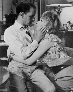 Film still of Frank Sinatra and Shirley MacLaine in 'Some Came Running,' 1958. Credit: Smith Collection/Gado
