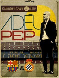 #AdeuPep #Guardiola #WallCup #Barcelona #España #Futbol #Football #Soccer #Spain