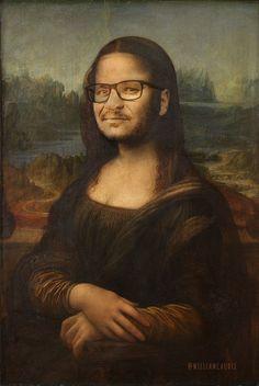 Clément l'incruste s'est totalement imprégné de cette toile exposée au #Louvre. Saurez-vous retrouver laquelle ? #TPMP #c4udi3