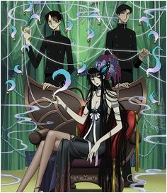 XXXHolic - great supernatural social commentry anime from the amazing team Clamp.Mixes folklore and modern japanese society.