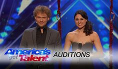 Clairvoyant a person who claims to have a supernatural ability to perceive events in the future or beyond normal sensory contact. A couple Tommy & Emily with a special connection attempts to connect with Heidi Klum and audience at America's Got Talent 2016 Auditions.