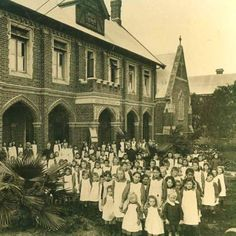 Perth Girls' Orphanage c1900 Writing Pictures, Old Pictures, Old Photos, Queen Aesthetic, Thing 1, History Teachers, Science Education, Orphan, Western Australia