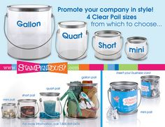 A Realtor can show their appreciation for a client by presenting household items in our Clear Pails once the deal is sealed! Candles, tea towels, gift cards and gift certificates are always welcome house warming gifts! The Gallon Pail and Quart Pail  Get all the up to date info on Conventional Mortgage Loans