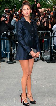 Nina Dovreb en el desfile de Chanel   Luxury Avenue