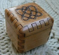 Celtic Heart Ring Box