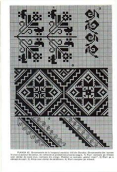 Cross Stitch Tree, Cross Stitch Borders, Cross Stitch Flowers, Cross Stitching, Cross Stitch Patterns, Blackwork Embroidery, Ribbon Embroidery, Cross Stitch Embroidery, Palestinian Embroidery