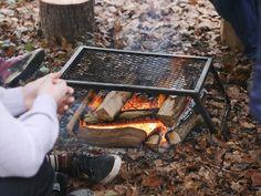 Camp Fire Feet