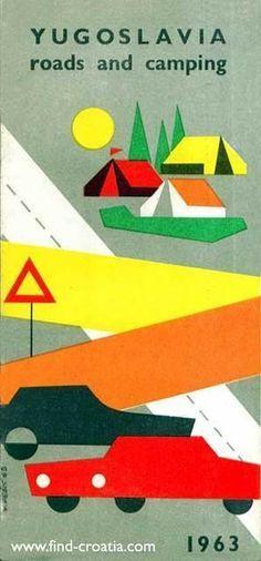 Jugoslavija Poster,