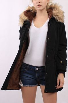 This winter, while one thinks of padded outerwear. This padded coat is in loose fit, it is with long sleeves, drawstring waist, twin large pockets and hood design was both fashion forward and utterly refined. Do yourself a favor-invest now.