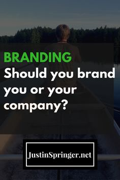 Wondering if you should brand you or your company? Learn how to always bet on YOU!   network marketing   MLM