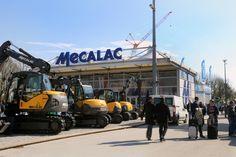 Auch Mecalac zog in eine Delta Vista Halle.