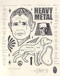 """Heavy Metal"", 2014."