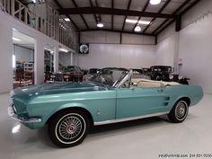 DANIEL SCHMITT & CO. PRESENTS: 1967 Ford Mustang convertible - Visit www.schmitt.com or call 314-291-7000 for more details!