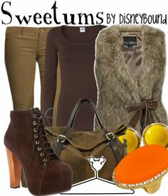 Disneybound - Sweetums outfit (muppets)