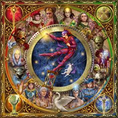 The Legacy Of The Devine Tarot ~ Ciro Marchetti