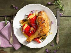 Lavendelhendl mit Zitronen-Erdäpfelpüree French Toast, Turkey, Low Carb, Chicken, Meat, Breakfast, Food, Unstuffed Peppers, Souffle Dish