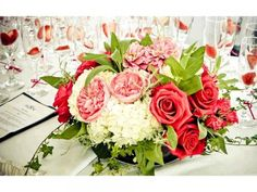 ROMANTIQUE WEDDING RECEPTION DECORATIONS | romantic-wedding-decor-ideas-wedding-flowers-reception-centerpieces ...