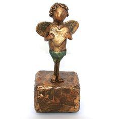 Cupido Brons look beeld unicum - Made by Ellen Buchwaldt