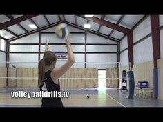 "Learn how to serve the most effective serve in volleyball: a float serve or ""floater""  #floater #serve #volleyball"