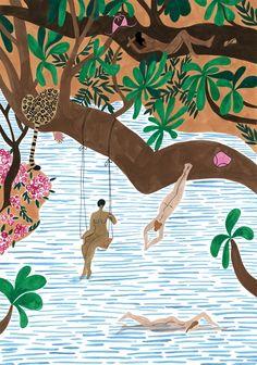 The Jungle Beach - Isabelle Feliu
