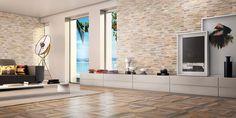 Revestimentos Eliane para salas.  Eliane's tiles for living rooms.