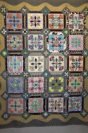 Quilts.  Each square almost has it's own story to tell.