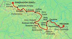 Poland - Główny Szlak Sudecki - 440 km