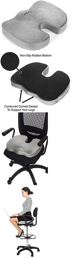 Other Orthopedic Products: Best Comfilife Coccyx Orthopedic Memory Foam  Office Chair And Car Seat Cushion