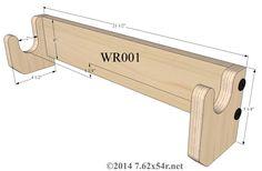 Free Gun Rack Plans How To Build A Gun Rack Misc
