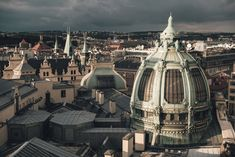 Free stock photo: Prague rooftops and Obecni Dum (Municipal House), view from Poder Tower. Online Marketing Companies, Marketing Program, Photos For Sale, Stock Photos, Investing In Stocks, Income Streams, Rooftops, Good Company, Prague