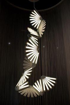 OLED chandelier