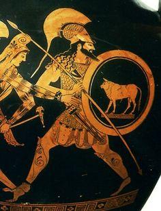 Greek vase.