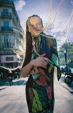 Oyster Fashion: 'Sheen' Shot By Leo Berne