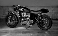 triumph cafe racer custom