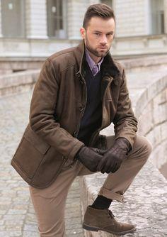 CHRIST Lammfelljacke für Herren | CHRIST Men Fashion | Pinterest ...
