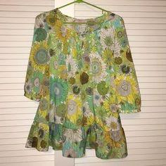 Liberty of london Tops -  Liberty of London medium top blouse sunflower