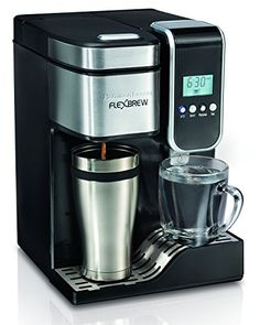 hamilton beach singleserve coffee maker flexbrew with hot water dispenser - Commercial Coffee Maker