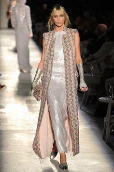 Anja Rubik in Chanel: Runway - Paris Fashion Week Haute Couture F/W 2012/13