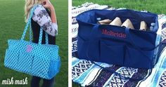 *BEST SELLING* Personalized Take It All Tote Bag ONLY $22.49 (Retail $40)
