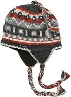 Everest Designs Khumbu Earflap Charcoal One Size   Click on the image for  additional details. 5d1d0ca42dfc