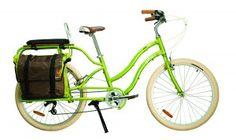 Yuba Boda Boda cargo bike, only in white instead of green