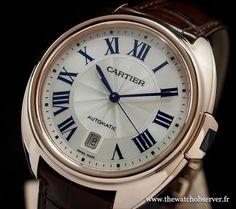 Montre de luxe Cartier Clé 40mm or rose Réf. WGCL0004